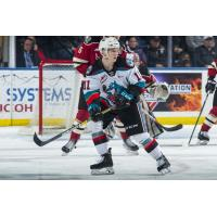 Kelowna Rockets right wing Pavel Novak