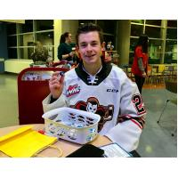 Calgary Hitmen forward Riley Fiddler-Schultz Named 2020 WHL Eastern Conference Humanitarian of the Year